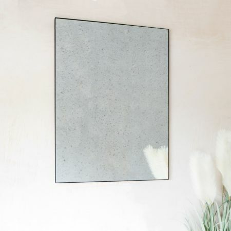 Rectangular Antiqued Mirror