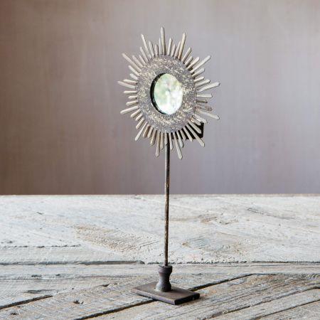 Sunburst Tea Light Holder on Stand