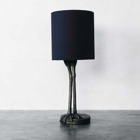 Bird Legs Table Lamp with Shade