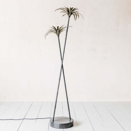 Palm Tree Floor Light