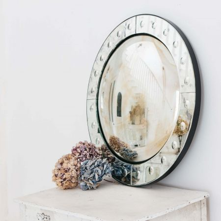 Convex Round Bubble Mirror