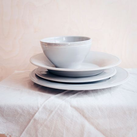 Constance Grey Tableware