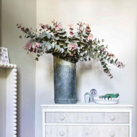 Distressed Ceramic Bamboo Vase - Thumbnail