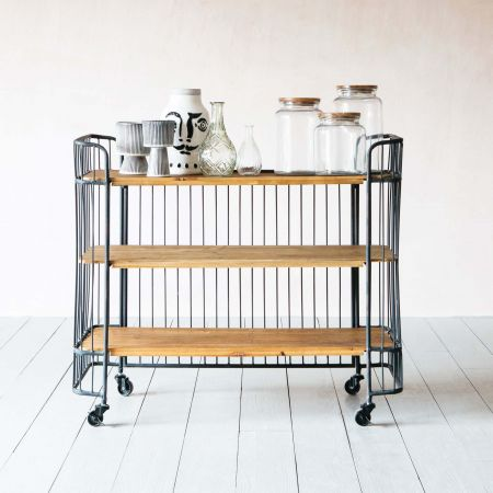 Jansen Wide Storage Cart