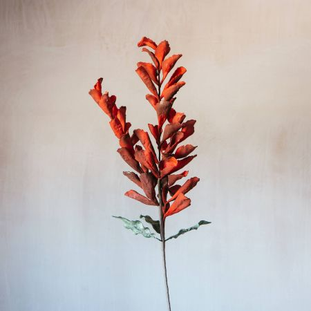 Faux Red Gladius Flower