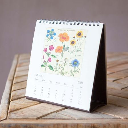 Wildflowers 2021 Desk Calendar