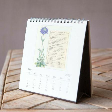 Herbarium 2021 Desk Calendar
