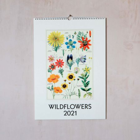 Wildflowers 2021 Wall Calendar