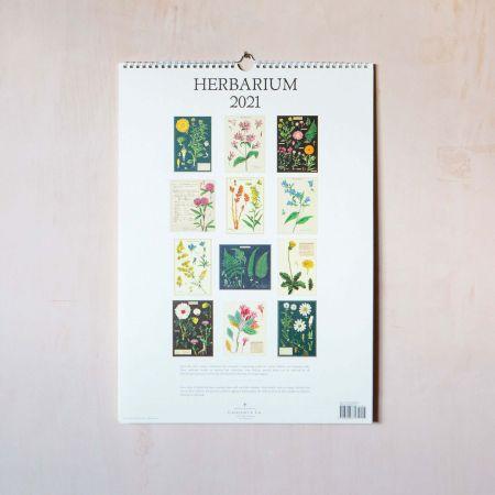 Herbarium 2021 Wall Calendar
