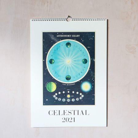 Celestial 2021 Wall Calendar