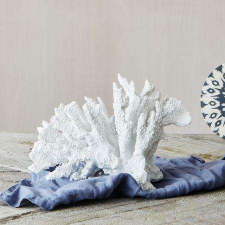 White Ceramic Coral