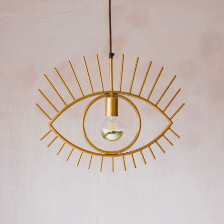 Golden Eye Pendant Light