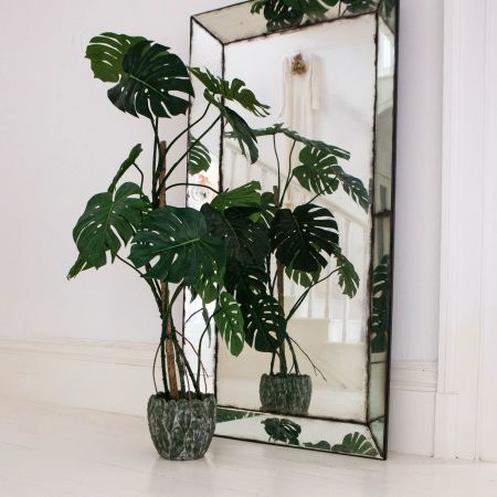 Large Faux Monstera Plant