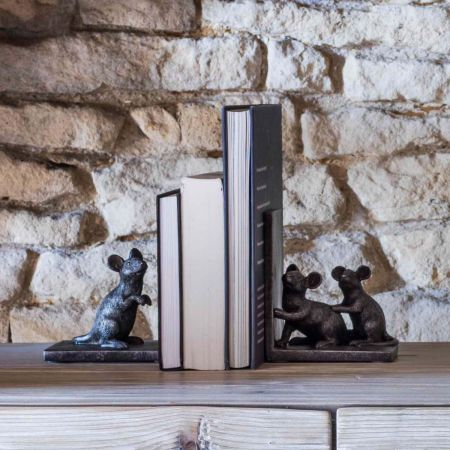 Mice Bookends - Thumbnail