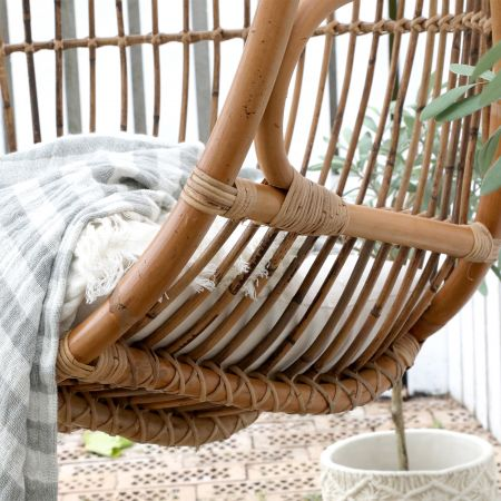 Mirabelle Rattan Swing Chair