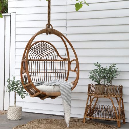 Mirabelle Rattan Swing Chair