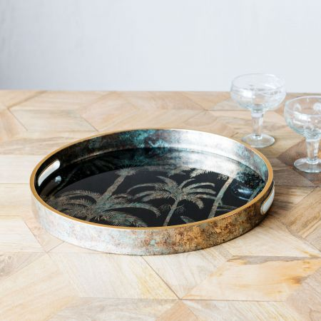 Palm Tree Pattern Tray