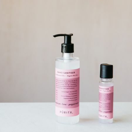 Geranium, Rose and Peppermint Hand Sanitisers