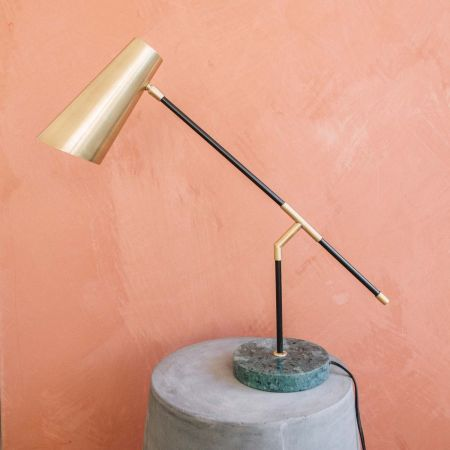 Lincoln Brass Table Lamp