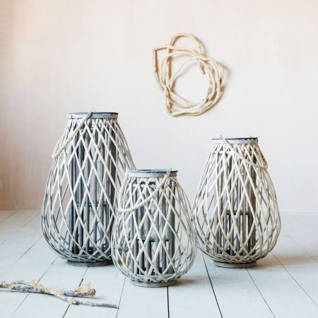 Braided Willow Lanterns