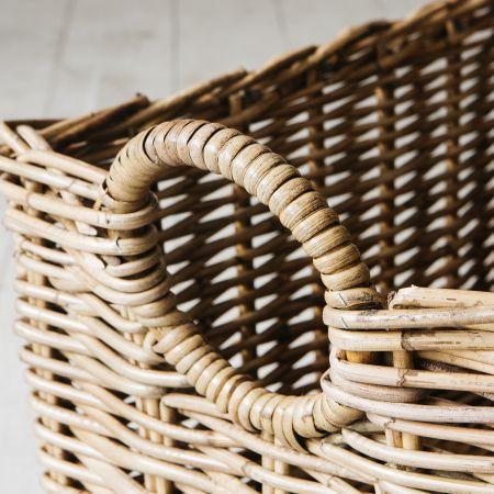 Set of Two Wicker Baskets