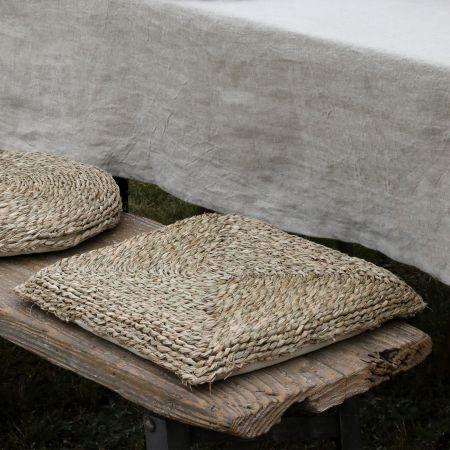 Square Seagrass Seat Pad