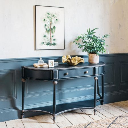 Ada Black Console Table