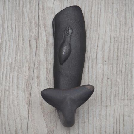 Large Metal Whale Hook