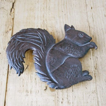 Squirrel Iron Trivet
