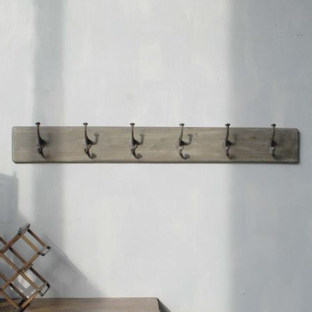 Six Hook Coat Holder