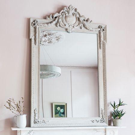 Crest Top Mirror