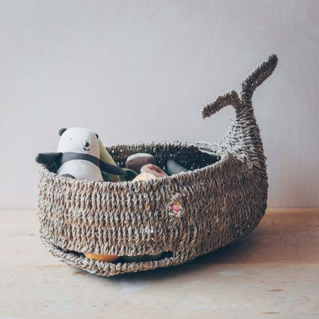 Seagrass Whale Basket