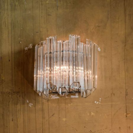 Tubular Glass Wall Light