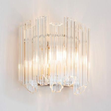 Tubular Glass Wall Light