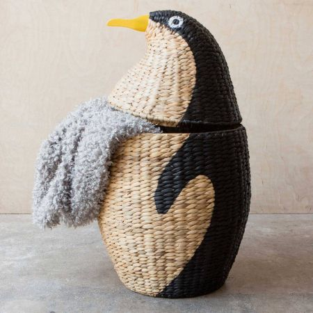 Rattan Penguin Basket