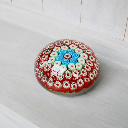 Red Urchin Paperweight