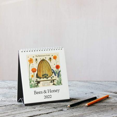 Bees and Honey Desk Calendar