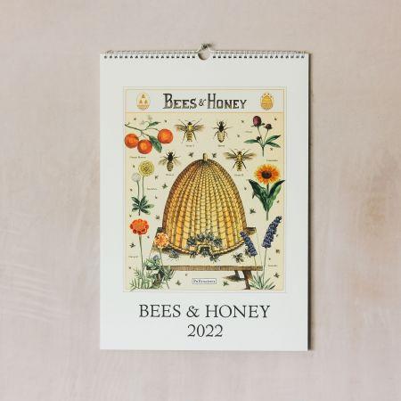 Bees and Honey 2022 Wall Calendar