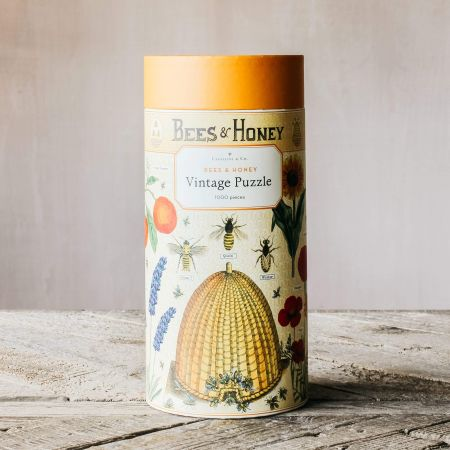 Bees and Honey Vintage Puzzle