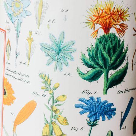 Wildflowers Vintage Puzzle