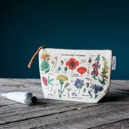 Wildflowers Vintage Pouch