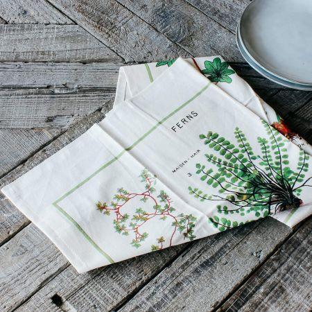 Ferns Vintage Tea Towel