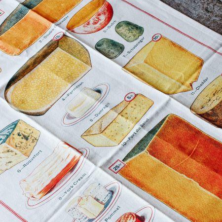 Cheese Vintage Tea Towel