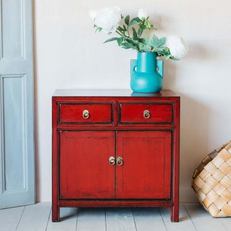 Lijang Red Sideboard