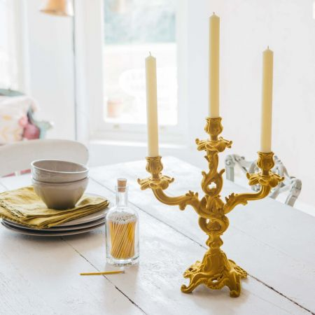 Yellow Flock Candelabra