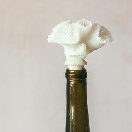 Faux Coral Bottle Stopper