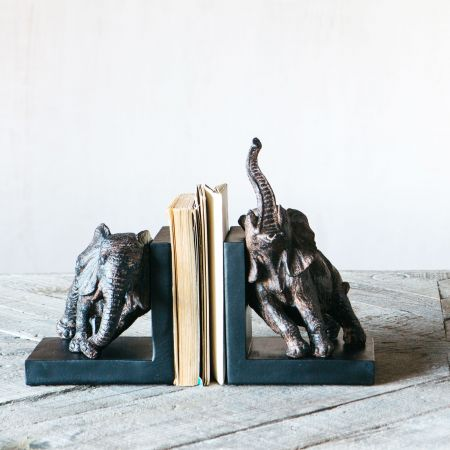 Eddie Elephant Bookends