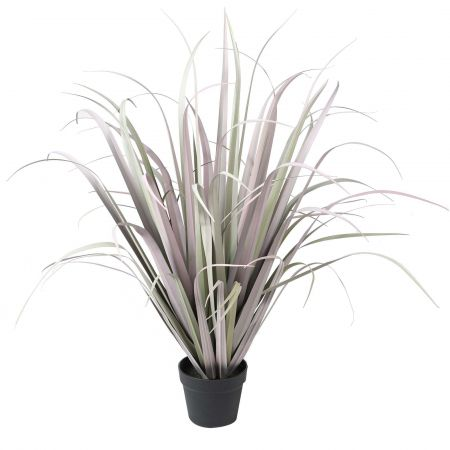 Large Faux Onion Grass in Pot