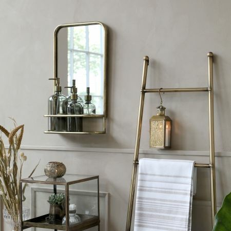 Alvis Mirror with Shelf