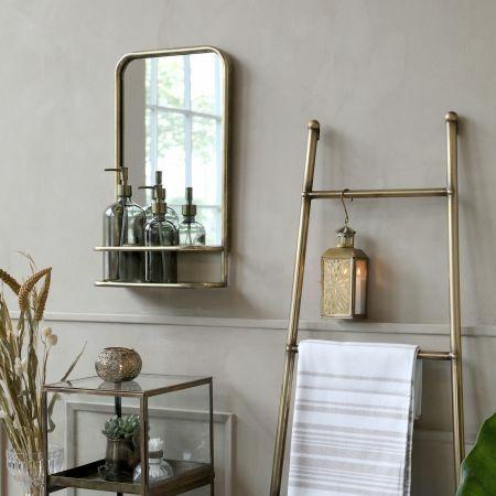 Alvis Mirror with Shelf